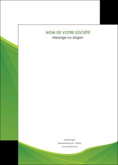 cree affiche espaces verts vert fond vert couleur MLGI67200