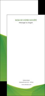 exemple flyers espaces verts vert fond vert couleur MLGI67206