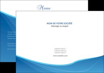 personnaliser maquette set de table bleu bleu pastel couleur froide MLGI67266