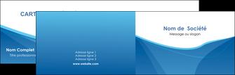 cree carte de visite bleu bleu pastel couleur froide MLGI67274