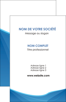Commander impression carte visite vernis selectif  papier publicitaire et imprimerie Carte de visite - Portrait
