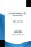 impression carte de visite bleu bleu pastel couleur froide MLGI67276