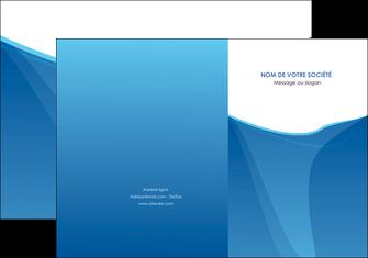 realiser pochette a rabat bleu bleu pastel couleur froide MLGI67278