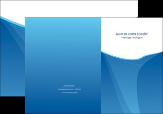 faire pochette a rabat bleu bleu pastel couleur froide MLGI67280