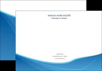 personnaliser maquette affiche bleu bleu pastel couleur froide MLGI67288