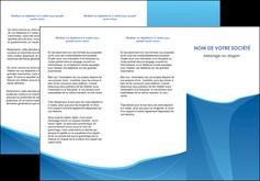 creer modele en ligne depliant 3 volets  6 pages  bleu bleu pastel couleur froide MLGI67292