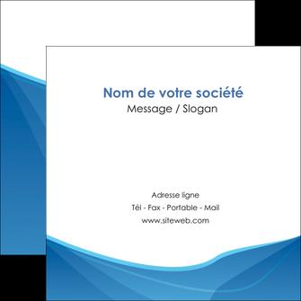 impression flyers bleu bleu pastel couleur froide MLGI67300