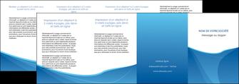exemple depliant 4 volets  8 pages  bleu bleu pastel couleur froide MLGI67314