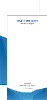 impression flyers bleu bleu pastel couleur froide MLGI67316