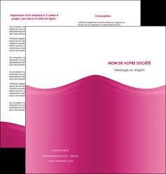 modele depliant 2 volets  4 pages  fond violet texture  violet contexture violet MLGI67350