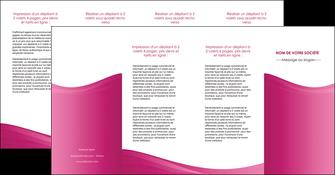 creer modele en ligne depliant 4 volets  8 pages  fond violet texture  violet contexture violet MLGI67368
