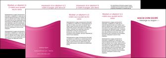 creation graphique en ligne depliant 4 volets  8 pages  fond violet texture  violet contexture violet MLGI67370