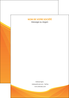 modele en ligne flyers orange fond orange jaune MLGI67374