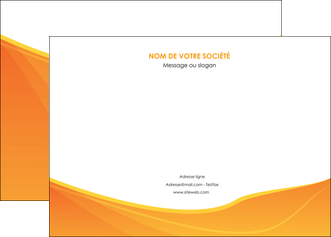 imprimer affiche orange fond orange jaune MLGI67392