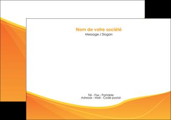 personnaliser maquette flyers orange fond orange jaune MLGI67396
