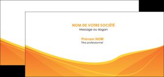 creer modele en ligne carte de correspondance orange fond orange jaune MLGI67410