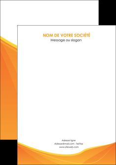 creer modele en ligne flyers orange fond orange jaune MLGI67418