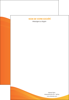 creation graphique en ligne affiche orange fond orange couleur MLGI67846
