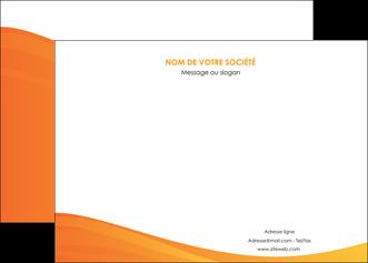 maquette en ligne a personnaliser affiche orange fond orange couleur MLGI67860