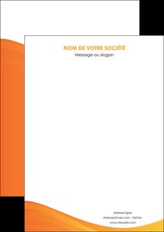 personnaliser maquette affiche orange fond orange couleur MLGI67882