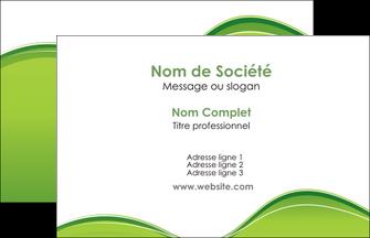 cree carte de visite espaces verts vert vert pastel couleur pastel MLGI68014