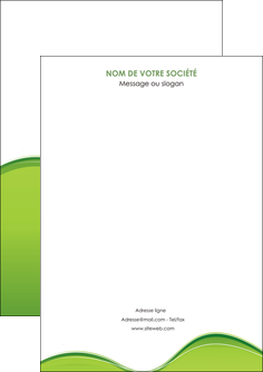 maquette en ligne a personnaliser flyers espaces verts vert vert pastel couleur pastel MLGI68016