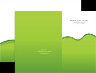 imprimer pochette a rabat espaces verts vert vert pastel couleur pastel MLGI68026
