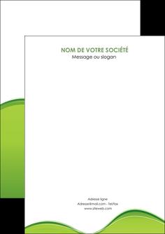 personnaliser modele de flyers espaces verts vert vert pastel couleur pastel MLGI68060
