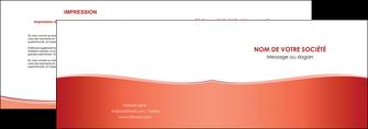 maquette en ligne a personnaliser depliant 2 volets  4 pages  rouge couleurs chaudes fond  colore MLIG68354