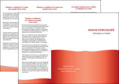 imprimerie depliant 3 volets  6 pages  rouge couleurs chaudes fond  colore MLIG68362