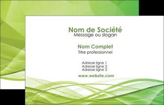 modele en ligne carte de visite espaces verts vert vert pastel couleur pastel MLGI68552