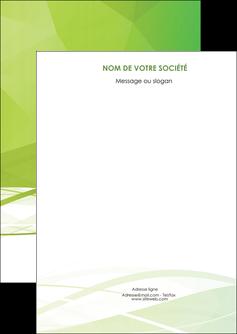 personnaliser maquette flyers espaces verts vert vert pastel couleur pastel MLGI68556
