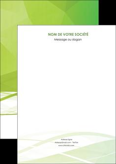 personnaliser maquette affiche espaces verts vert vert pastel couleur pastel MLGI68560