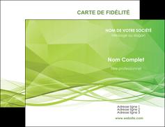 faire modele a imprimer carte de visite espaces verts vert vert pastel couleur pastel MLGI68562