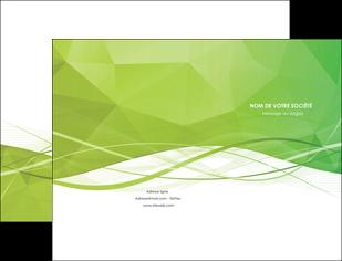 realiser pochette a rabat espaces verts vert vert pastel couleur pastel MLGI68564