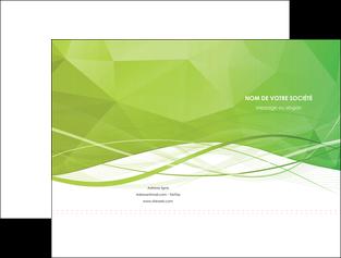 realiser pochette a rabat espaces verts vert vert pastel couleur pastel MLGI68566