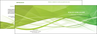 creation graphique en ligne depliant 2 volets  4 pages  espaces verts vert vert pastel couleur pastel MLGI68568