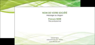 creer modele en ligne carte de correspondance espaces verts vert vert pastel couleur pastel MLGI68590