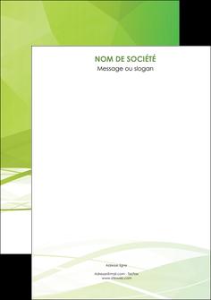 realiser flyers espaces verts vert vert pastel couleur pastel MLGI68598