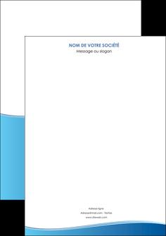 personnaliser modele de affiche bleu bleu pastel fond pastel MLGI68618