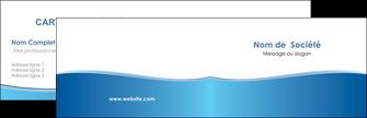 impression carte de visite bleu bleu pastel fond pastel MLGI68622