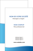 modele carte de visite bleu bleu pastel fond pastel MLGI68624
