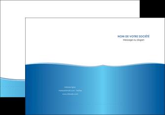 creation graphique en ligne pochette a rabat bleu bleu pastel fond pastel MLGI68628