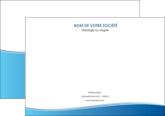 personnaliser maquette affiche bleu bleu pastel fond pastel MLGI68632