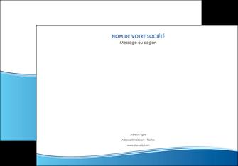 creation graphique en ligne affiche bleu bleu pastel fond pastel MLIG68636