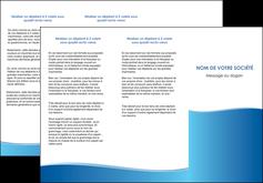 personnaliser maquette depliant 3 volets  6 pages  bleu bleu pastel fond pastel MLGI68640