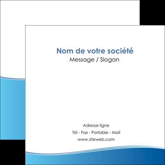 impression flyers bleu bleu pastel fond pastel MLGI68648