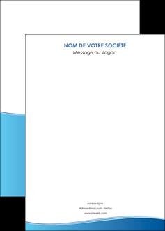 imprimer affiche bleu bleu pastel fond pastel MLGI68658