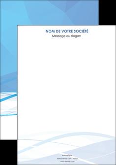 modele affiche bleu bleu pastel fond bleu pastel MLGI68928