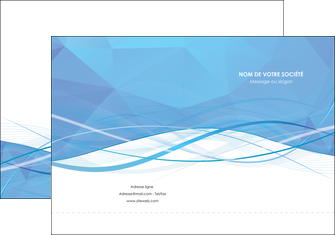 maquette en ligne a personnaliser pochette a rabat bleu bleu pastel fond bleu pastel MLGI68940